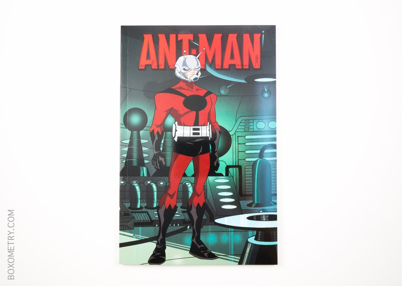 Boxometry Comic Bento July 2015 Review - Marvel Universe Ant-Man Cover