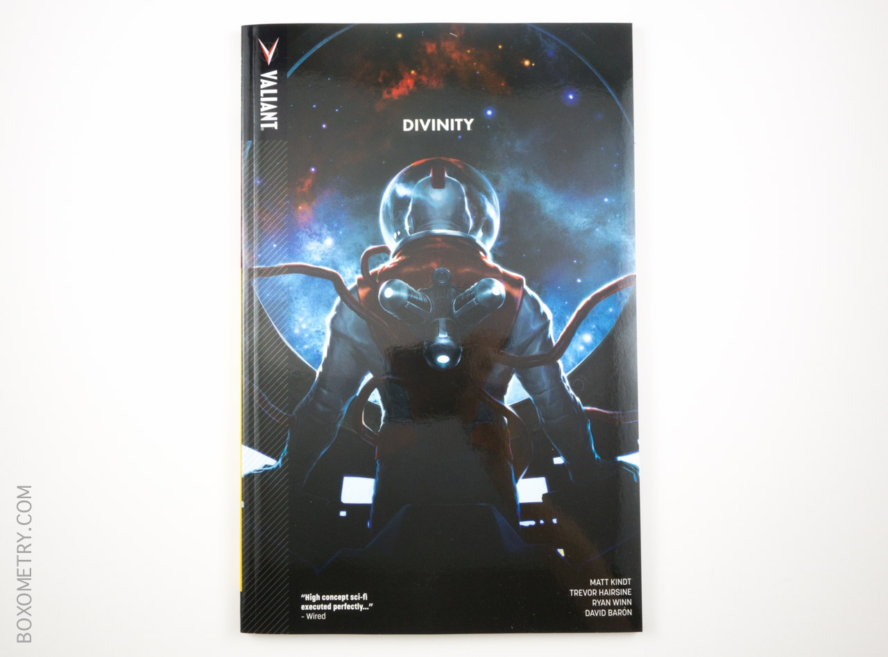 Boxometry Comic Bento July 2015 Review - Divinity TP Cover