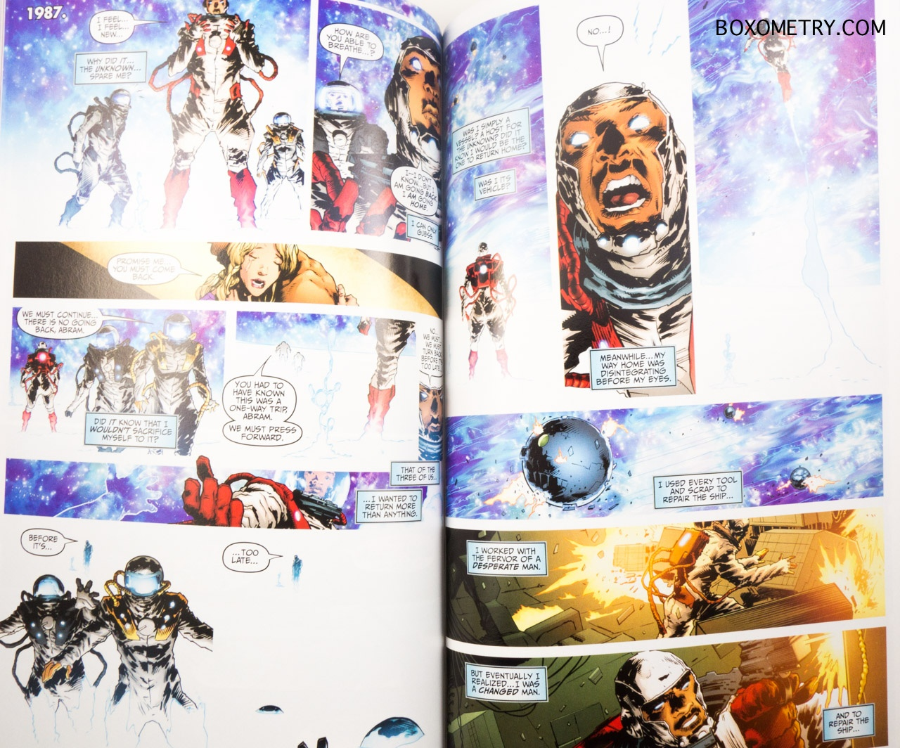 Boxometry Comic Bento July 2015 Review - Divinity TP Inside