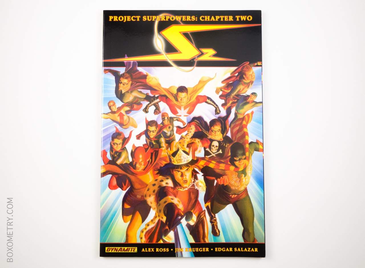 Boxometry Comic Bento July 2015 Review - Project Superpowers Chapter 2, Vol. 1 Cover