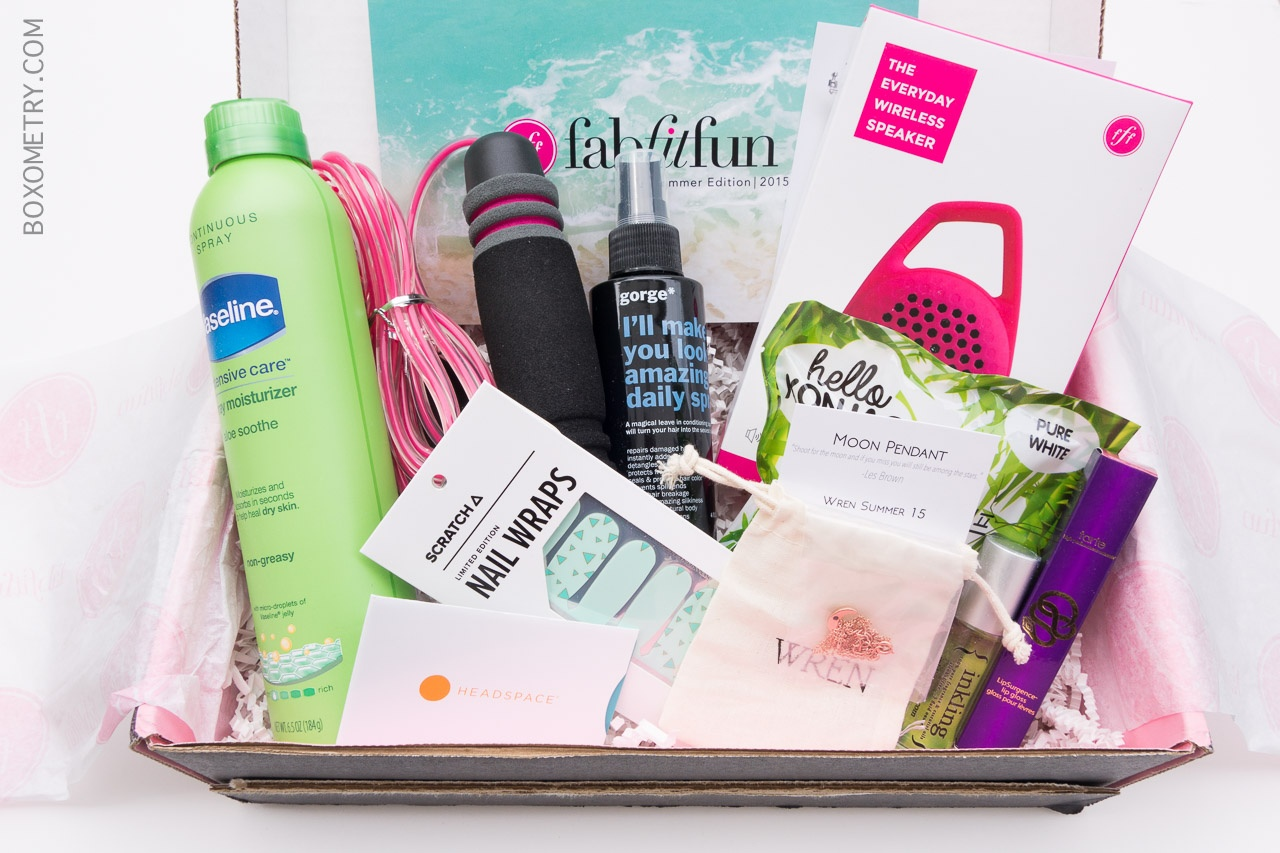 FabFitFun VIP Subscription Box Review amp; Coupon  Summer 2015