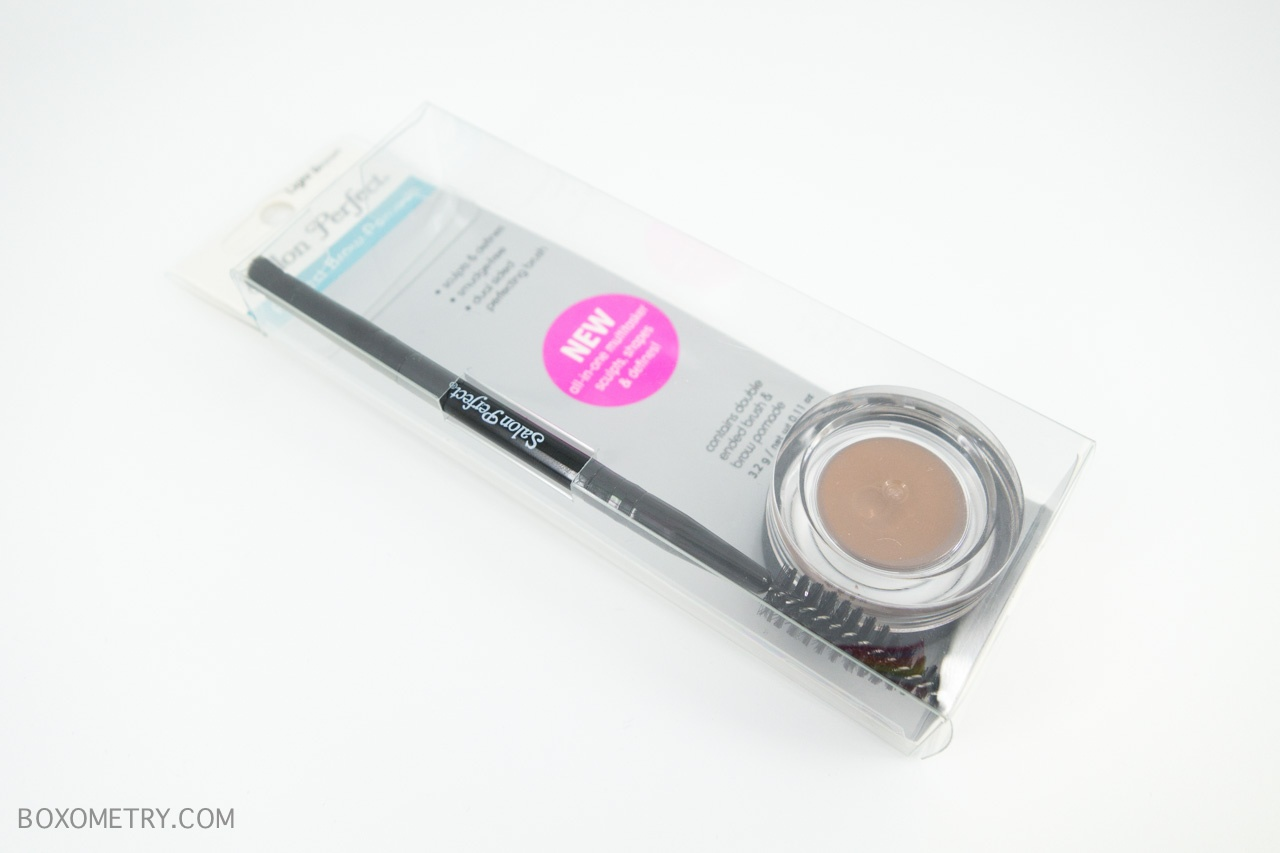 Boxometry Ipsy January 2016 Review - Salon Perfect - Perfect Brow Pomade